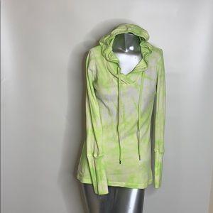 Calvin Klein Size Large Tye Dye Hoodie, Thermal